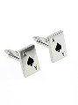 Ace of Spades Cuff Links