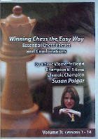 Winning Chess the easy way  -  Susan Polgar DVD Series Vol  3