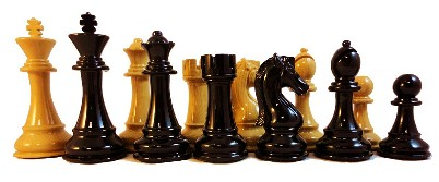 Woodtek Chess Pieces - 4.25 King