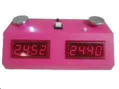 Z Mart Digital Chess Clock - Pink