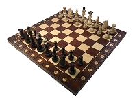 Consul Brown Chess Set   -  19