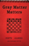 Gray Matter Matters Red Softcover Scorebook