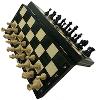 Wood Magnetic Chess Set   -  10 1/2