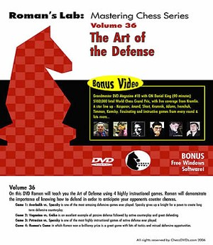 Roman's Chess Download 36: The Art Of Defense