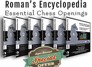 Roman Encyclopedia of Chess Openings 6 Part Ser