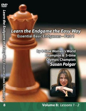 Susan Polgar  Essential Basic Endgames Part 1  Vol. 8