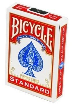 Bicycle Standard Poker Playing Cards - Red