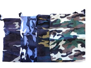 Camouflage Chess Bags - Choice of Color