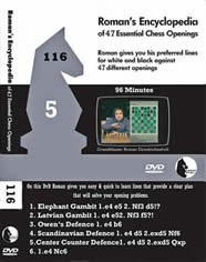 Roman's Lab 116 Encyclopedia of Chess Openings 5