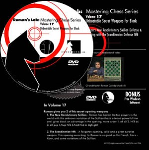 Roman's Lab 17: Unbeatable Secret Weapons for Black Chess DVD