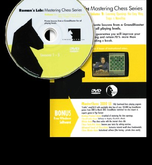 Roman's Lab 1: Mastering Chess: Learning Openings Chess DVD