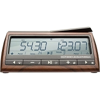 DGT 3000 Digital Chess Clock - 25th Anniv. Ed