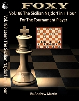 Foxy Chess DVD 188 Learn The Sicilian Najdorf in 1 Hour
