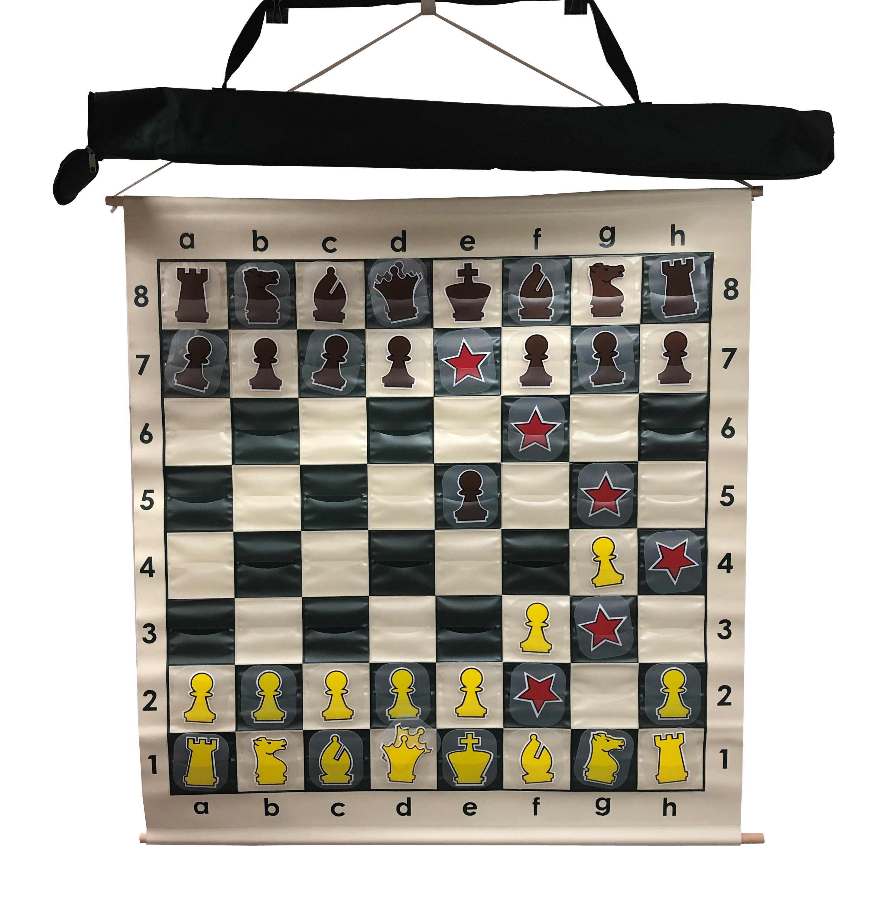 4 in.Square Pro Chess Demo Board