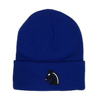 Chess Knight Embroidered Beanie Hat