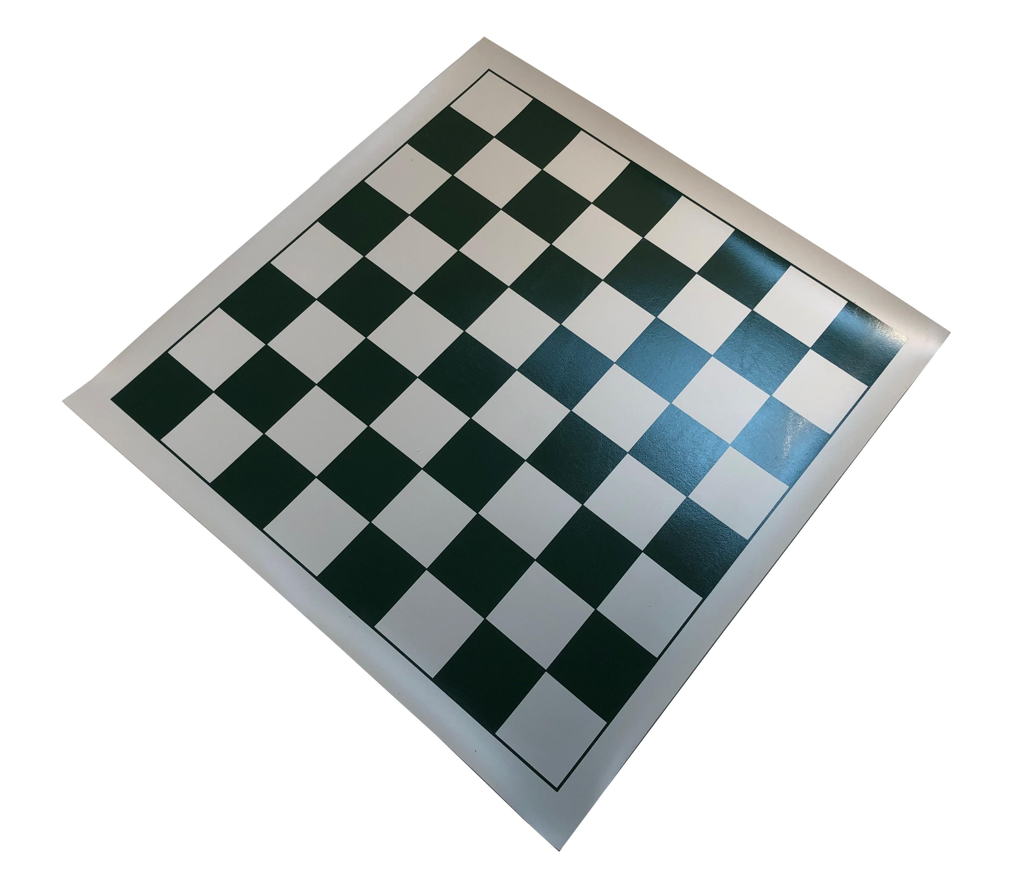Large Vinyl Chess Board Green