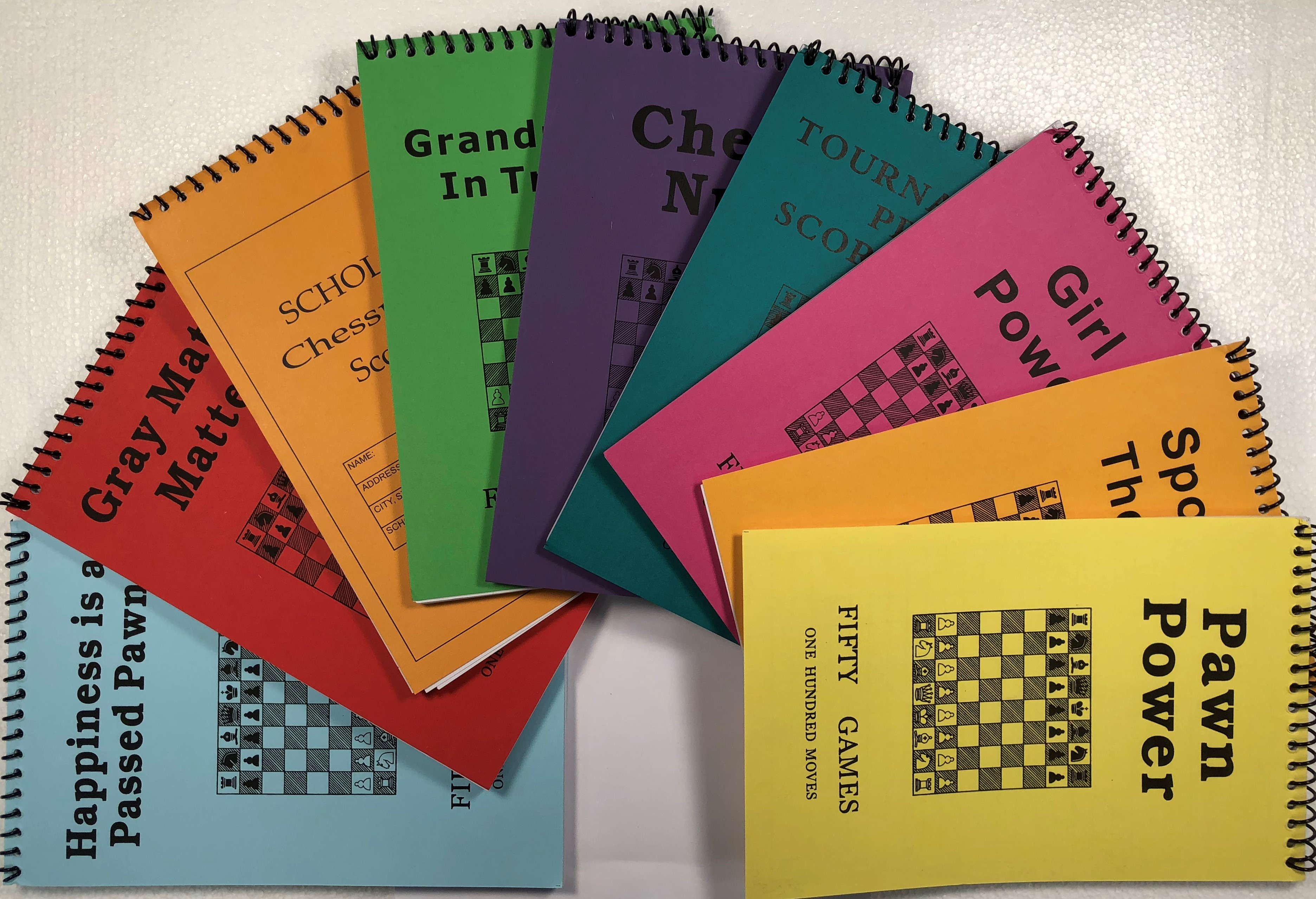 Softcover Chess Scorebooks