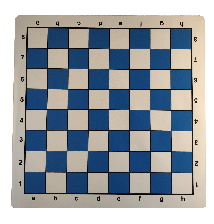 "New Vinyl Chess Board 20/"" x 20/"" Black Tournament Standards Square 2.25 Inch"