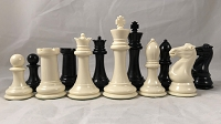 Big Knight - Plastic Chess Set - Heavily Weighted - 4