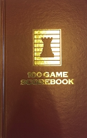 Cardinal Red Chess Hardcover Scorebook