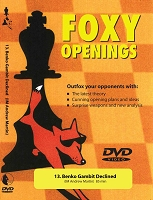 Foxy Chess 013: Benko Gambit Declined  -  Chess