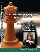 Easy Openings  Susan Polgar  The Colle-Zukertort Vol. 7