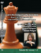 Essential Endgames: Intermediate Susan Polgar  Vol. 10