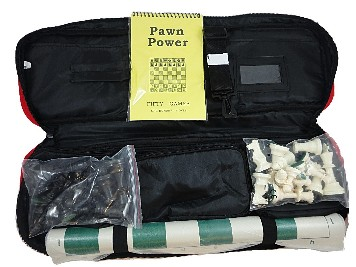 TOURNAMENT BAG CHESS COMBO - Superior Bag/Board/Chess Pieces/Scorebook