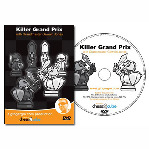 Killer Grand Prix Chess DVD - GM Gawain Jones - 5 1/2 Hours