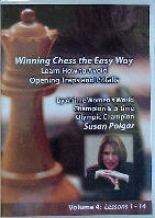 Winning Chess the easy way  -  Susan Polgar DVD Series Vol 4