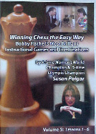 Susan Polgar Vol 5 Bobby Fischer's Most Brilliant Games