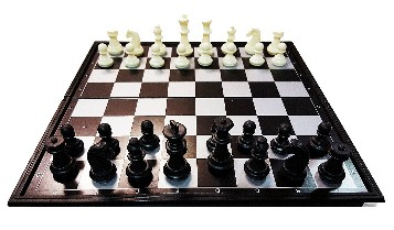 Magnetic Chess Set 9 3/4 X 9 3/4 in.- 1 9/16 in.King