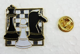 Enamel Chess Pin