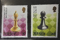 Jersey Chess Stamps