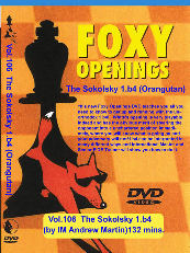 Foxy Openings Chess DVD 106:  1. b4
