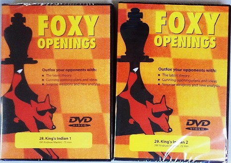 Foxy Chess Openings Vol. 28 & 29 - Kings Indian 1 & 2
