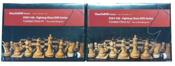 Foxy  Chess 58 and 59 - Fighting Series