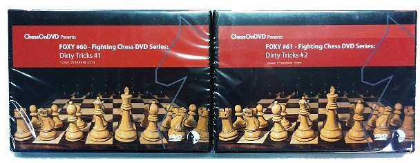 Foxy Chess Series 60/61 - 2 DVDs - Wicked Traps / Devastating Attacks