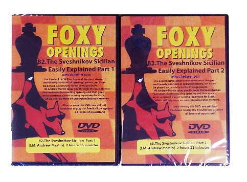 Foxy Chess DVDs 82 & 83 -The Sveshnikov Sicilian Easily Explained