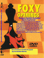 Foxy Chess 097 Queens Gambit Accepted for Black