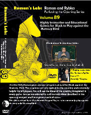 RL 89 Chess DVD: : Black against the Maroczy Bind