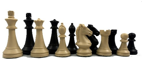 Cavalier Staunton Triple Weight Plastic Tournament Chess Set