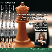 Winning Chess The Easy Way  -  Susan Polgar  - Volumes 1 - 13