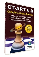 CT-ART 6.0 Chess Software Training DVD