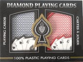 Victoria Bridge Playing Cards - Ace 100% Plastic - 4-Pip Index