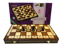 Large King's - Folding Board - Brown - 3