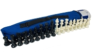 QUIVER COMBO - WEIGHTED: Bag, Board & Weighted Chess Set