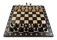 Senator Chess Set - Black -16