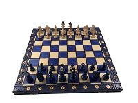 Senator Chess Set - Blue -16