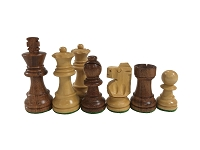 Standard Staunton Babul Wood Analysis Chess Set - 2.5